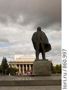 Купить «Площадь Ленина (Новосибирск)», фото № 860997, снято 14 августа 2007 г. (c) Андрей Востриков / Фотобанк Лори