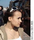 Купить «Портрет девушки», фото № 861989, снято 26 апреля 2009 г. (c) Троицкая Алиса / Фотобанк Лори