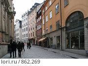 Купить «Городской пейзаж (г. Стокгольм. Швеция)», фото № 862269, снято 15 марта 2009 г. (c) Александр Секретарев / Фотобанк Лори