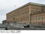 Купить «Городской пейзаж. Вид на королевский дворец (г. Стокгольм. Швеция)», фото № 862289, снято 15 марта 2009 г. (c) Александр Секретарев / Фотобанк Лори