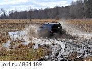 Купить «УАЗы грязи не боятся», фото № 864189, снято 25 апреля 2009 г. (c) Андрияшкин Александр / Фотобанк Лори
