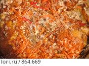 Суп со специями, приготовление. Стоковое фото, фотограф Артур Якуцевич / Фотобанк Лори