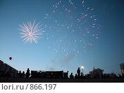 Салют. Стоковое фото, фотограф Максим Сидоров / Фотобанк Лори