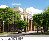 Смоленский государственный драматический театр, фото № 872897, снято 19 мая 2009 г. (c) Примак Полина / Фотобанк Лори