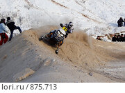 Снегоход-кросс (2009 год). Редакционное фото, фотограф Абудеев Дмитрий / Фотобанк Лори