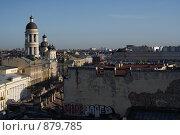 Купить «Панорама Санкт-Петербурга с крыши», фото № 879785, снято 8 мая 2009 г. (c) Назаренко Ольга / Фотобанк Лори