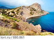 Купить «Морской берег. Крым», фото № 880861, снято 29 мая 2007 г. (c) Михаил Лукьянов / Фотобанк Лори