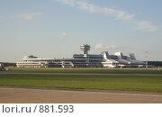 Купить «Минский аэропорт», фото № 881593, снято 20 мая 2009 г. (c) Наталья Белотелова / Фотобанк Лори
