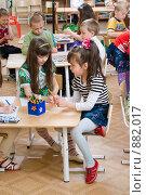 Купить «В детском саду», фото № 882017, снято 5 мая 2009 г. (c) Федор Королевский / Фотобанк Лори