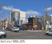 Купить «Здание старой водокачки», фото № 886205, снято 21 апреля 2008 г. (c) Геннадий Соловьев / Фотобанк Лори