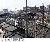 Купить «Пекин. Железнодорожные пути», фото № 886273, снято 26 марта 2008 г. (c) Александр Солдатенко / Фотобанк Лори