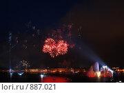 Салют (2006 год). Стоковое фото, фотограф Лоза Алексей Анатольевич / Фотобанк Лори