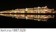 Эрмитаж ночью (2008 год). Редакционное фото, фотограф Лоза Алексей Анатольевич / Фотобанк Лори