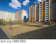 Купить «Спальный микрорайон», фото № 889893, снято 28 мая 2009 г. (c) Andrey M / Фотобанк Лори