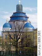 Купить «Троицко-Измайловский собор», фото № 889981, снято 10 мая 2009 г. (c) Сергей Разживин / Фотобанк Лори