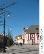 Пешеходная 7-ая линия Васильевского острова. Санкт-Петербург, фото № 895457, снято 2 мая 2009 г. (c) Заноза-Ру / Фотобанк Лори