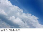 Купить «Летнее небо», фото № 896369, снято 27 февраля 2020 г. (c) ElenArt / Фотобанк Лори