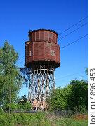 Купить «Петушки.Водонапорная башня.(архитектор-В.Г.Шухов)», фото № 896453, снято 31 мая 2009 г. (c) АЛЕКСАНДР МИХЕИЧЕВ / Фотобанк Лори