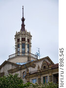 Купить «Здание в центре Киева», фото № 898545, снято 17 мая 2009 г. (c) Ирина Литвин / Фотобанк Лори