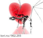 Купить «Скелет дракона», иллюстрация № 902293 (c) Alperium / Фотобанк Лори
