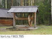 Купить «Деревянный колодец», фото № 903785, снято 25 мая 2009 г. (c) Вячеслав Беляев / Фотобанк Лори