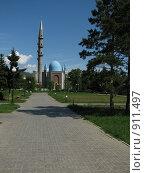 Купить «Мечеть», фото № 911497, снято 9 июня 2009 г. (c) Зуев Андрей / Фотобанк Лори