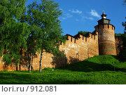Купить «Нижегородский кремль», фото № 912081, снято 27 мая 2009 г. (c) Саломатников Владимир / Фотобанк Лори