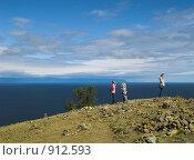 Купить «Байкал. Мыс Хобой», фото № 912593, снято 10 сентября 2008 г. (c) Andrey M / Фотобанк Лори