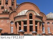 Строительство церкви (2009 год). Стоковое фото, фотограф Алексей Васильев / Фотобанк Лори