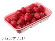 Купить «Редис в пластиковом контейнере», фото № 917317, снято 13 июня 2009 г. (c) Игорь Веснинов / Фотобанк Лори