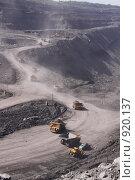 Купить «Угольный разрез», фото № 920137, снято 9 июня 2009 г. (c) Максим Попурий / Фотобанк Лори