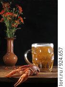 Купить «Пиво-раки», фото № 924657, снято 27 мая 2009 г. (c) Омельян Светлана / Фотобанк Лори