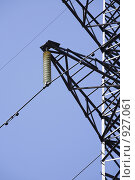 Купить «Вышка линии электропередачи», фото № 927061, снято 10 мая 2009 г. (c) Egorius / Фотобанк Лори