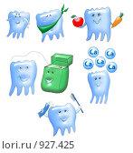 Зубки, иллюстрация № 927425 (c) Анна Боровикова / Фотобанк Лори