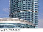 Купить «Фрагмент Москва-Сити», фото № 935089, снято 26 апреля 2009 г. (c) Олег Рыбаков / Фотобанк Лори