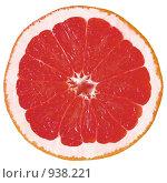 Грейпфрут, фронтальное сечение. Стоковое фото, фотограф Андрей Рудаков / Фотобанк Лори