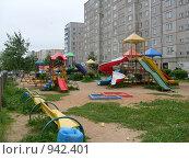 Детская площадка (2009 год). Стоковое фото, фотограф Владимир Соловьев / Фотобанк Лори