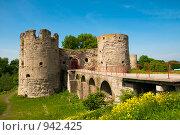Купить «Крепость в Копорье», фото № 942425, снято 13 июня 2009 г. (c) Виталий Романович / Фотобанк Лори
