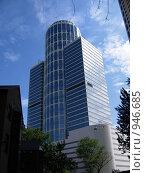 Купить «Офисный центр на Беговой», фото № 946685, снято 18 мая 2009 г. (c) Мурад / Фотобанк Лори