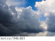 Кучевые облака. Стоковое фото, фотограф Евгений Булатов / Фотобанк Лори