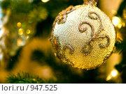 Купить «Елочная игрушка», фото № 947525, снято 18 декабря 2008 г. (c) Дмитрий Ростовцев / Фотобанк Лори