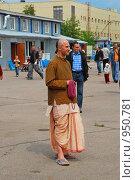 Купить «Кришнаиты. Праздник колесниц», эксклюзивное фото № 950781, снято 6 июня 2009 г. (c) lana1501 / Фотобанк Лори