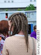 Купить «Дреды - традиционная причёска ямайских растафари», эксклюзивное фото № 950897, снято 6 июня 2009 г. (c) lana1501 / Фотобанк Лори
