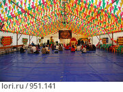 Храм Кришны. Праздник колесниц (2009 год). Стоковое фото, фотограф lana1501 / Фотобанк Лори