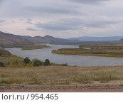Горная река. Стоковое фото, фотограф Андрей Бабкин / Фотобанк Лори