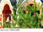Скит Преподобного Саввы. Колокольня Саввинской церкви. Стоковое фото, фотограф Константин Сапронов / Фотобанк Лори