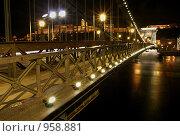 Купить «Будапешт, цепной мост», фото № 958881, снято 31 декабря 2008 г. (c) Paul Bee / Фотобанк Лори