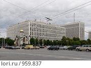 Купить «Здание российского Министерства Внутренних дел в Москве», фото № 959837, снято 4 июля 2009 г. (c) Синицын Игорь / Фотобанк Лори
