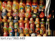 Купить «Матрешки», фото № 960449, снято 10 апреля 2009 г. (c) Синицын Игорь / Фотобанк Лори