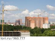 Строительство в Коммунарке. Стоковое фото, фотограф Юлия Новикова / Фотобанк Лори